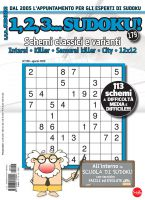 Copertina 1,2,3 Sudoku n.179
