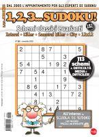 Copertina 1,2,3 Sudoku n.182