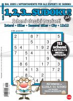 Copertina 1,2,3 Sudoku n.184