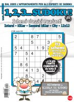 Copertina 1,2,3 Sudoku n.189